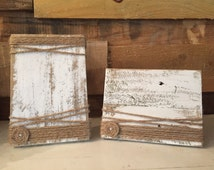 Picture Frame - Wood picture frame - rustic decor