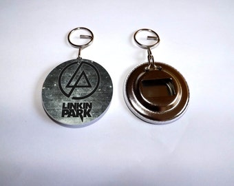 "bottle opener and keychain ""LINKIN PARK"""
