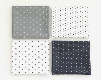 "Laminated cotton Fabrics yard Waterproof oilcloth vinyl PVC wide 43""_Simple Cross & Thunder _SAM146868"