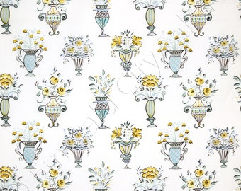 Dena Designs Tea Garden Chai Lemon Fabric by the Yard DF82-LEMON