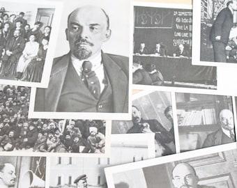 Lenin in Kreml / Set of 21 Vintage Postcards with V. I. Lenin ..  Cards ... 1969 year