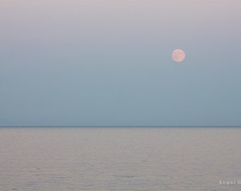 Sea,Art picture,Art,Moon,Picture print,Picture,Art Photography,Sea photo,Moon rising,Custom size,Print photo,Fine Art Photography,Quality