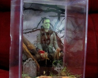 Frankenstein has been Captured Display...Unique...only have 1...Brand New ready to ship...