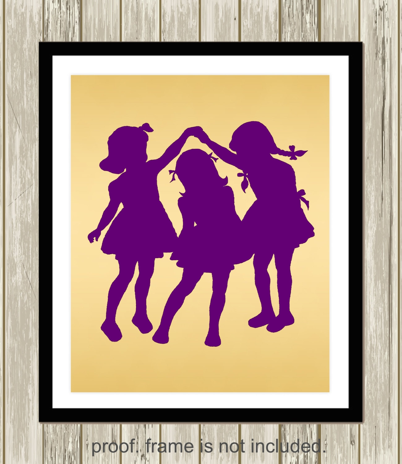 Sisters Wall Art - Elitflat