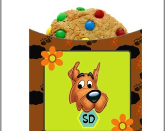 Scooby Doo Cookie Sleeve Wrappers