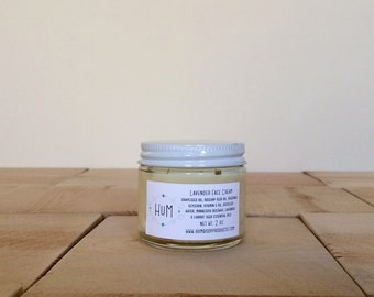 Lavender face cream // Carrot seed face cream Natural skin care Organic skin care Organic moisturizer Personal care Under 50 Gifts for her