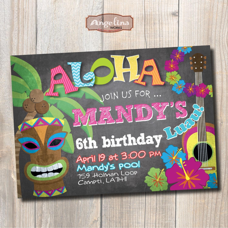 hawaiian cards  etsy, Birthday card