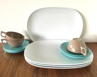 Oblong Melamine Plates