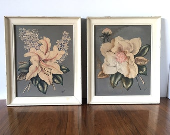 Shabby-Chic Picture Pair