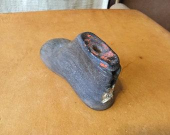 Primitive Antique Baby Shoe Mold
