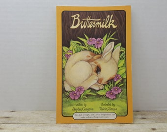 Buttermilk, 1987, Stephen Cosgrove, Robin James, Vintage Serendipity book