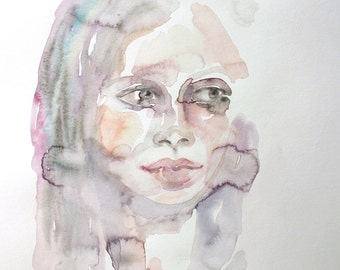 truly . original watercolor painting