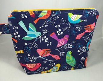 A little Birdie Told me Project Bag- large