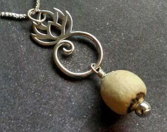 Lotus Seed Pendant