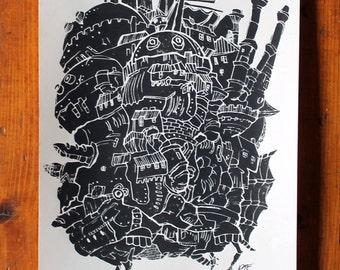 Howl's Moving Castle Print