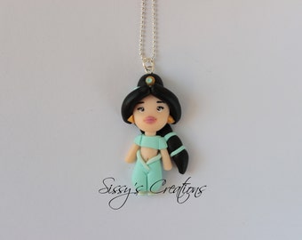 Jasmine necklace - Aladdin