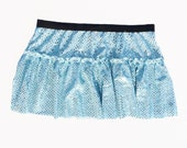Cinderella Blue Running Costume Skirt