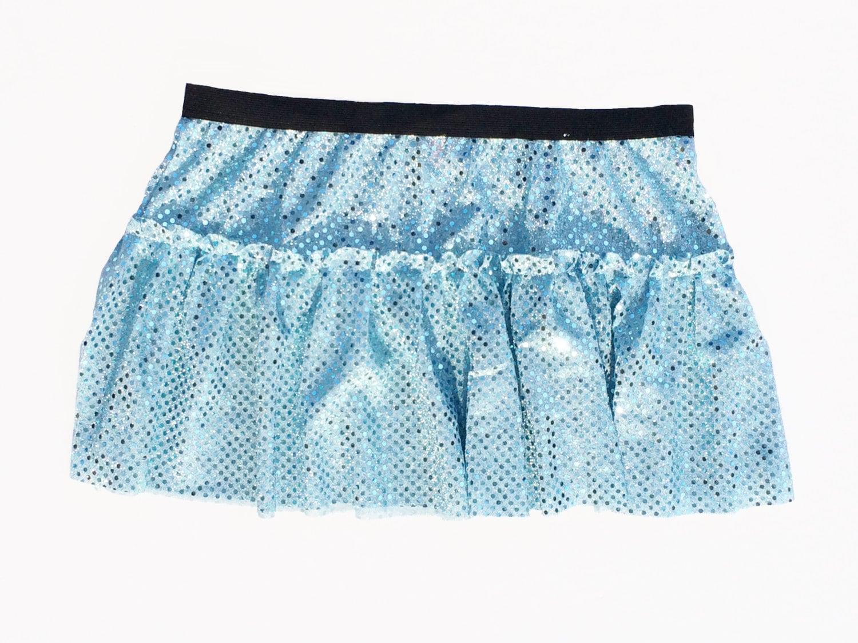 cinderella blue running costume skirt