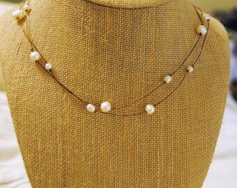 Pearl Strands Necklace