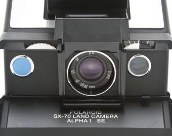Polaroid accessory holder 113 for SX-70 with original box SX70 polaroid alpha 1 model 2
