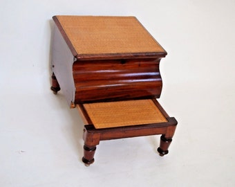 Bed Step Stool Etsy