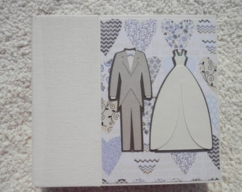 6x6 Ivory Wedding Scrapbook Photo Album