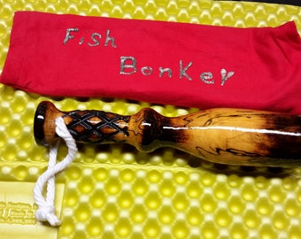 Vintage wooden Fish bonker club