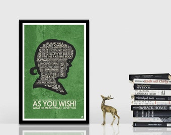 Princess Bride Quote Poster