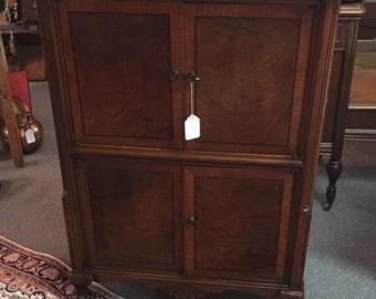 1930's Distressed Vintage Cabinet
