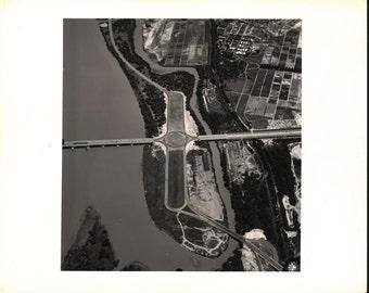 Aerial Photograph Rosslyn Circle Washington DC 1941 Photo