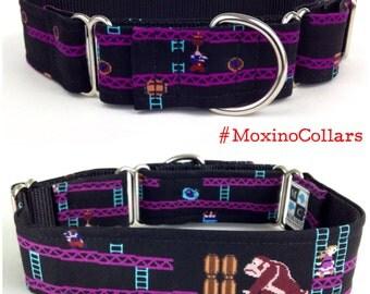Donkey Kong dog collar