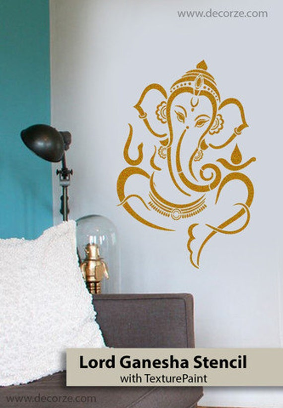 Ganesha Stencil For Diy Art Size 23 36 Inches