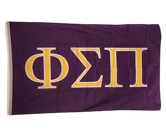 phi sigma pi letter flag 3 x 5