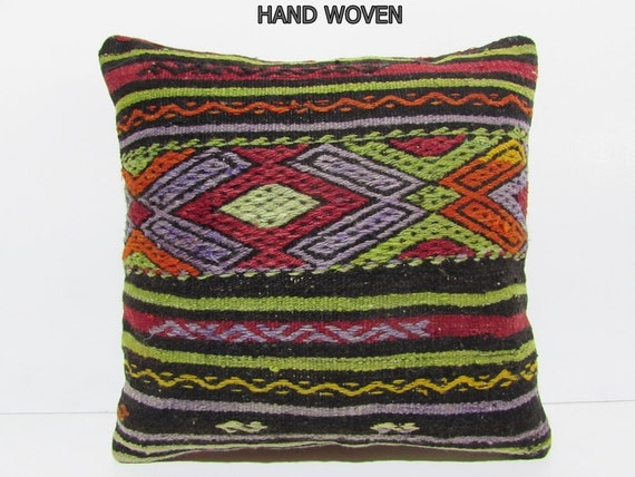 Giant Chevron Floor Pillows : 20x20 kilim pillow 20x20 giant pillow cover floor cushion