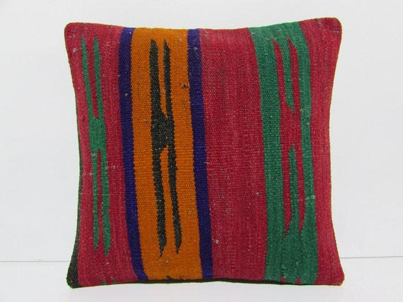 kilim floor cushion earthy turkish cushion cover natural floor