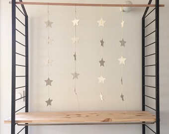 porcelain star garland
