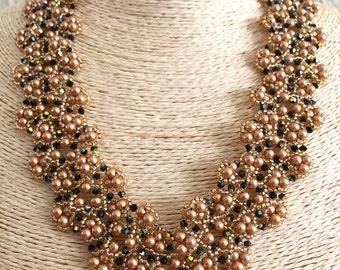 Vintage Gold Lace