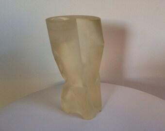 Martha Sturdy Modern Resin Candle Holder