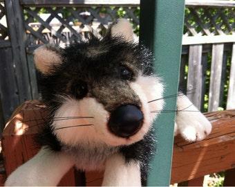 Wolf  Stuffed Animal Plush Toy by Ranger Gus