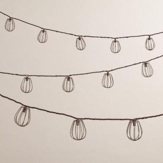 Coloured Lights String Lights Fairy Lights Festoon