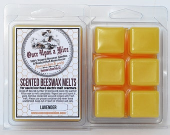 Lavender Beeswax Melts | 3 oz. | Natural | Melt-Warmers | Wax Melts | Scented