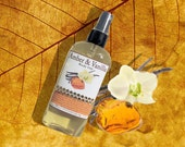 Amber Vanilla Organic Body Oil - Organic Bath Body & Massage Oil - 99% Natural - 4.7 oz