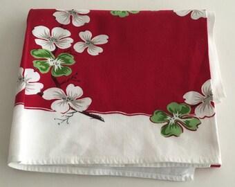 Vintage 1960s Tablecloth