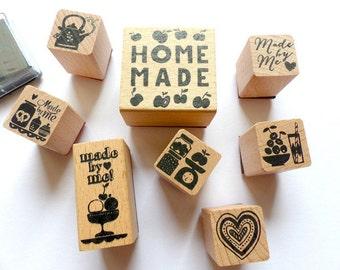 Stamp set stamp home made