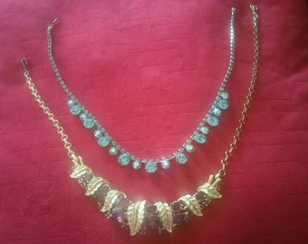 Vintage Cora Coker/Your Choice Necklace * Free Shipping