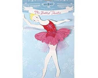 Ballerina Garland Banner - The Ballet Theatre