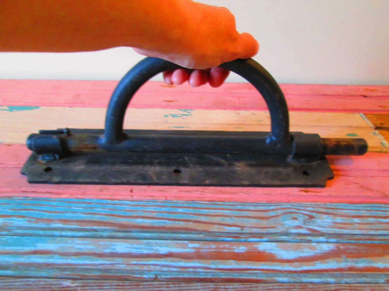 Sliding Barrel Bolt Lock Vintage Industrial Door Hardware