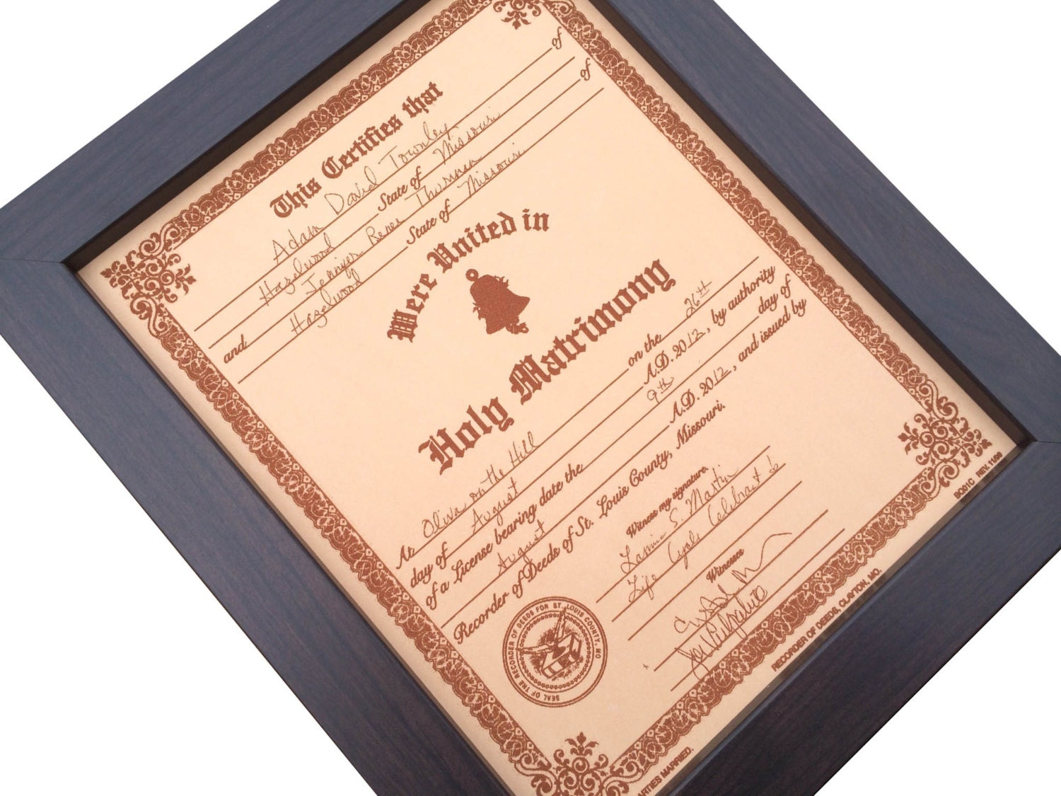 Leather Wedding Anniversary Gift Ideas: Leather Anniversary Gift Engraved Wedding By JWdesignStudio