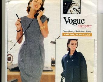 Geoffrey Beene Vogue Pattern 2031, sz 6,8,10