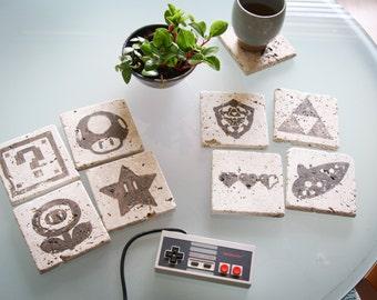 Nintendo Stone Coasters
